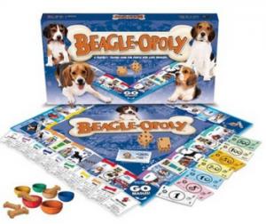 Beagle-opoly - jeu Monopoly beagle