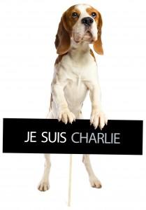 beagle Je suis Charlie
